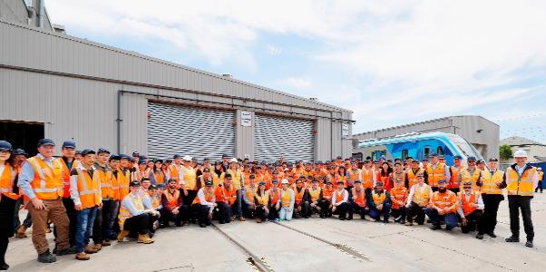Vista Underground Distribution Switchgear: Testing Starts On Very First High Capacity Metro Train